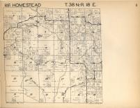 Homestead T38N-R18E, Florence County 1957